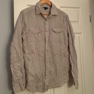 Gap outlet men's lightweight hiking shirt